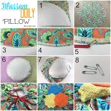 How To Cover A Round Pillow Without Sewing