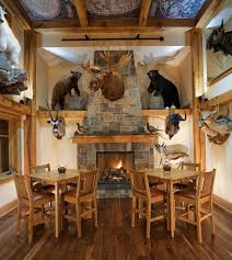 hunting trophy room decorating ideas