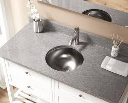 stainless steel bathroom sinks