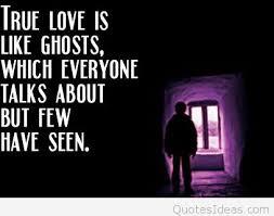 true love is like ghosts of halloween