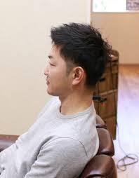 30代パパの人気の髪型は 茨城県北茨城市の男性専門のマンツーマン