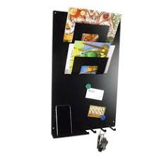 Black Magnetic Memo Board 10000in100 stainless steel key rack magnetic memo board wall mounted 14