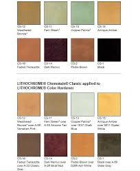 Acid Stain Color Charts Dalcrete Decorative Concrete Inc