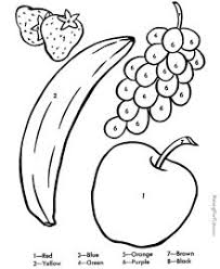 Small Picture fruit bowl coloring page Food Pinterest