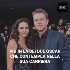 Icone - La storia d'amore mai ascoltata di Matt Damon e sua moglie