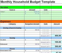 Budget Worksheet Christian Elegant Sample Monthly Budget Best Budget ...