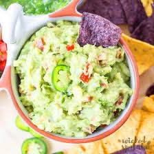 homemade simple easy guacamole recipe