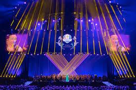 ryder cup opening gala concert 2016 lighting designer
