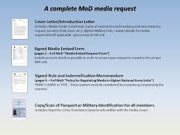 Media Embed Request Form