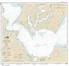 Amazon Com Noaa Chart 12284 Patuxent River Solomons