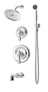 shower bar system. Symmons 5406 Degas Tub Shower Unit Bar System