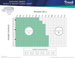 Prevail Breezers 360 Size Chart Prevail Specialty Brief Bariatric A 2x Large Heavy Absorbency Pv 017 Case Of 48