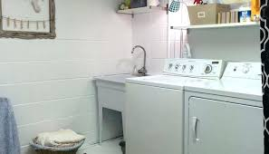 Unfinished basement laundry room ideas Ceiling Unfinished Laundry Room Unfinished Basement Laundry Room Ideas Unfinished Laundry Room Lighting Linkmaximusorg Unfinished Laundry Room Unfinished Basement Laundry Room Ideas