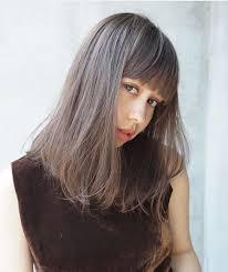 ミディアム髪の量が多い人に似合う髪型ヘアスタイル10選 Gray Hair