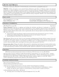 Professional Clinical Pharmacist Resume Sample Free Download