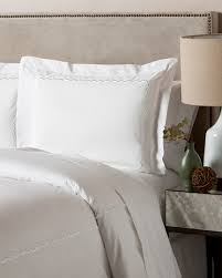 westport 300tc scallop cotton percale duvet set