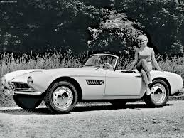 BMW Convertible bmw retro car : 7 Vintage Cars Guaranteed To Make You Cool - 1957 BMW 507 | BMW ...