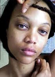 tyra banks without makeup named as world supermodel tyra banks without makeup face actually looks so diffe and will surprise you