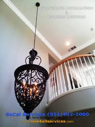 chandelier ceiling fan installation starting at 75 00