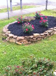 rock flower bed: Flowers Gardens, Flower Gardens, Creek Rocks Flower