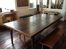 rustic reclaimed wood dining table excellent inspiring reclaimed wood dining table and chairs wood dining table