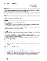 Tax Accountant Resume Cpa Tax Accountant Resume Sample Resume