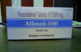 Image result for Paracetamol 500 MG Tablet\