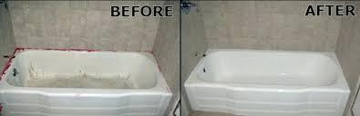 resurfaced bathtub bathtub refinishing bathtub refinishing companies in
