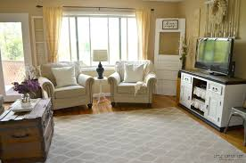 how transitioned farmhouse style little vintage nest yellow walls interior decorating make perfect nesting living room