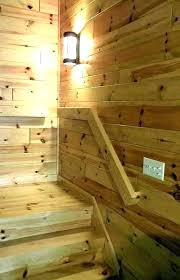 log cabin paneling knotty pine wall charming interior from wood v groove siding style menards