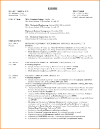 Engineering Student Resume Sample Resume Sample For Mechanical Engineering Student Best Mechanical 53