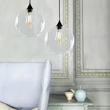 round glass pendant light round glass pendant light clear glass pendant lights for kitchen island