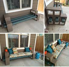 The Pry Posse - DiY Cinder Block Bench - Garden Tips and Tricks