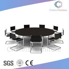 modern furniture big size 10 persons round office desk meeting table cas mt1801