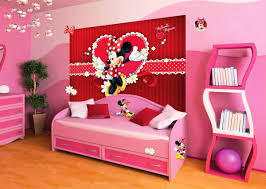 Minnie Mouse Bedroom Wallpaper Mickey Mouse Bedroom Ideas For Kids