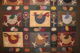 A Quilt or Two for November | Ann's Words & Quilt Chicken Run (2) Adamdwight.com