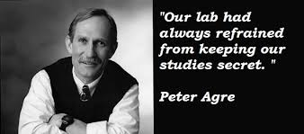 Peter Agre's quotes, famous and not much - QuotationOf . COM via Relatably.com