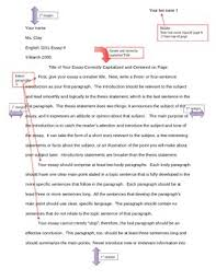 Word Document Mla Format Mla Formatting Example By Linda Clay Teachers Pay Teachers