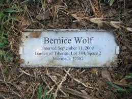 Bernice Wolf