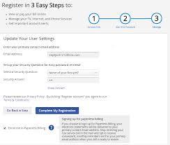 Cox Com Account Registration And Preferences