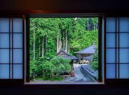 Wallpaper : Japan, temple, window, room ...