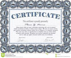 certificate template stock photography image 31635022 certificate template