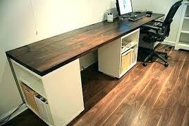 office desk idea. Long Wood Desk Wooden Feminine Executive Office Furniture Intended For Ideas Idea T