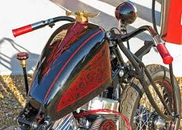 motorcycle parts gangster choppers