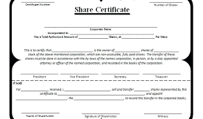 Template Share Certificate Fancy Restaurant Voucher Certificate Template Pdf Stock Free