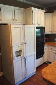 Kitchen Cabinet Magnets Amazing Grays Diy Over Fridge Wine Rack