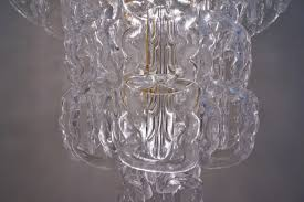 angelo mangiarotti style chandelier murano glass chain link gilt frame italian in vintage chandeliers from roomscape