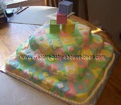 Blanket Cake Photos and Instructions & colorful baby blocks quilt cake ... Adamdwight.com