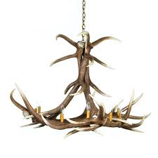 from 1 199 00 elk 6 antler chandelier