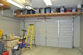 storage over garage door building storage above garage doors storage over garage door